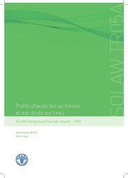 Rapport thématique AGTER SOLAW 2011